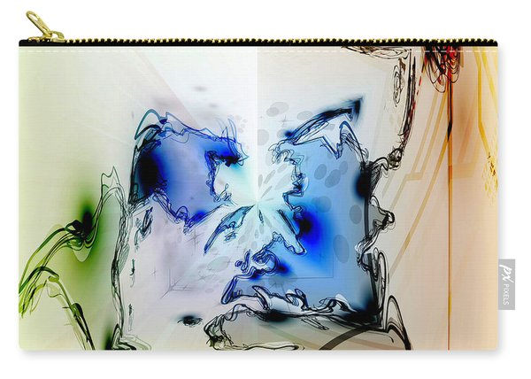 Kooky Abstract Carry-all Pouch