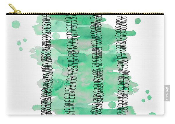 Kowhai Watercolor Carry-all Pouch