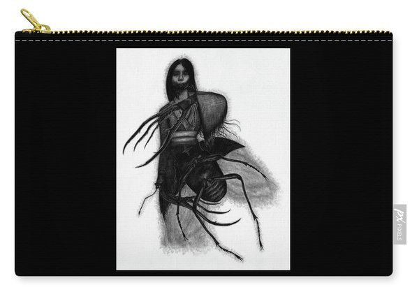 Kuchisake-onna The Slit Mouthed Woman Ghost - Artwork Carry-all Pouch