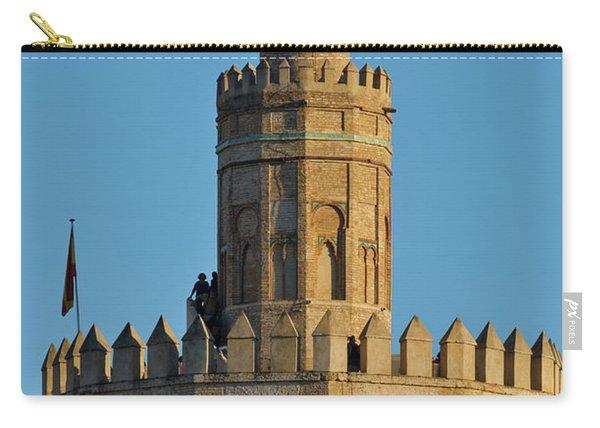 La Torre De Oro Detail. Seville Carry-all Pouch