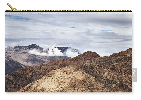 Carry-all Pouch featuring the photograph Ladakh Peaks by Whitney Goodey