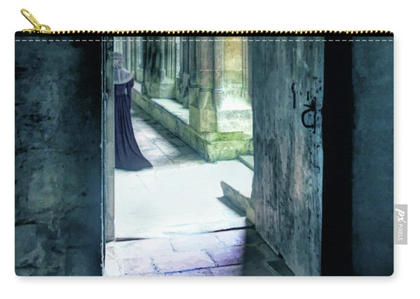 Lady In The Abbey Carry-all Pouch