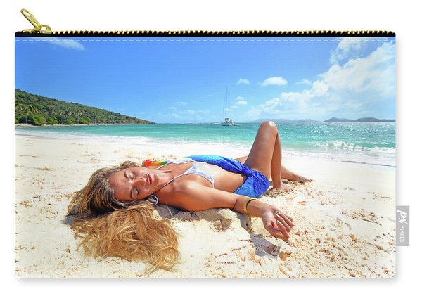 Lady Of The Leewards Carry-all Pouch