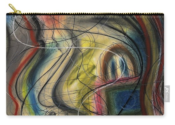 Lady With Purse Carry-all Pouch