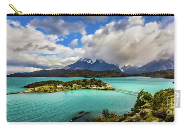 Lago Pehoe, Chile Carry-all Pouch