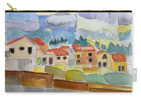 Laguna Del Sol Houses Design  Carry-all Pouch