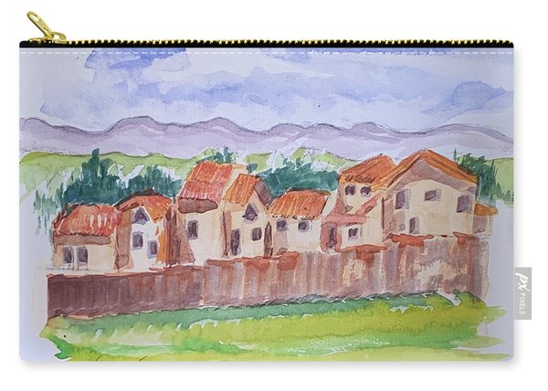 Laguna Del Sol Row Houses Carry-all Pouch