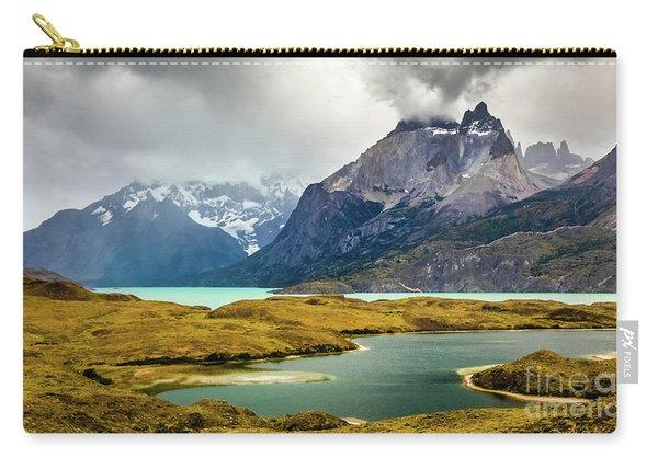 Laguna Larga, Lago Nordernskjoeld, Cuernos Del Paine, Torres Del Paine, Chile Carry-all Pouch