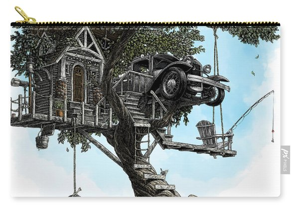 Lake Front Dream House Carry-all Pouch