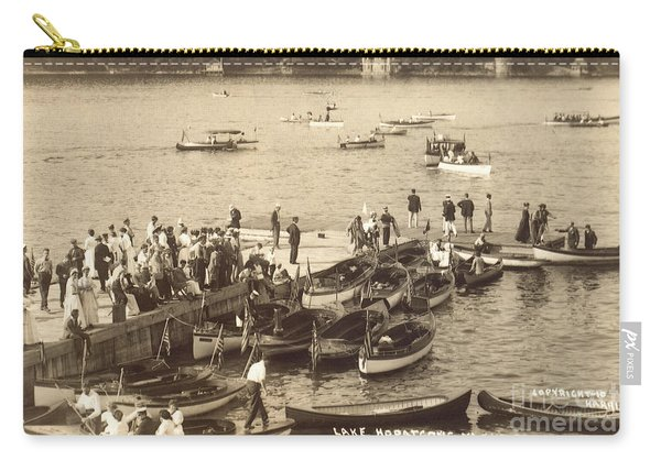 Lake Hopatcong Yacht Club Dock - 1910 Carry-all Pouch