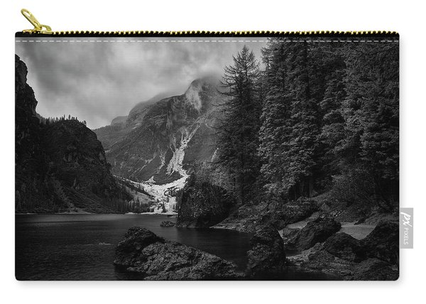 Lake In The Dolomites Carry-all Pouch