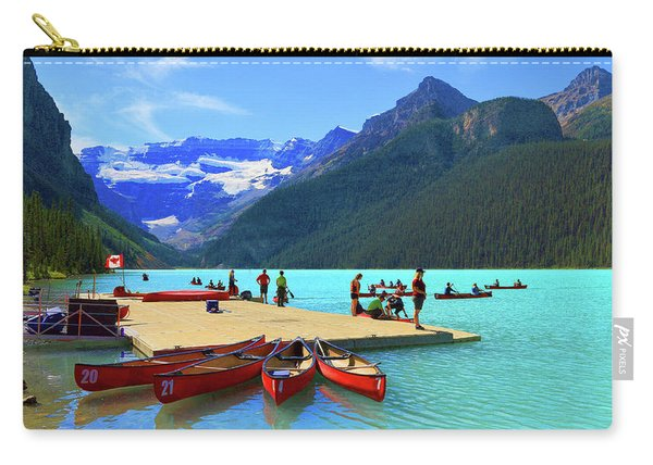 Lake Louise In Alberta Canada Carry-all Pouch