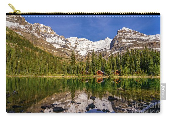 Lake Ohara Lodge Cottages Morning Light Carry-all Pouch