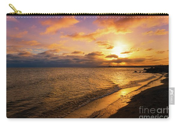 Lake Ontario Colorful Dawn Carry-all Pouch