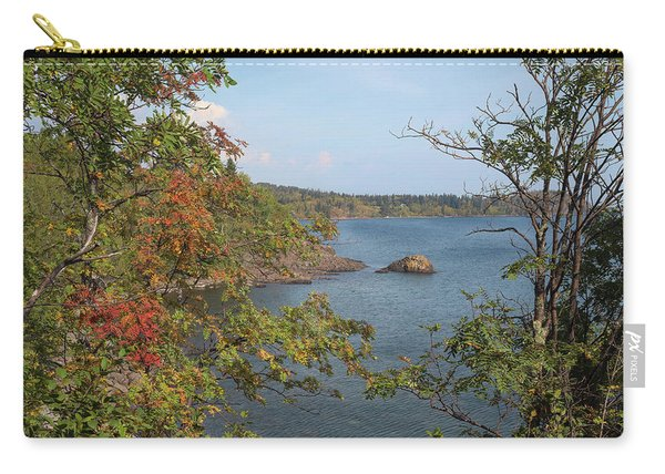 Lake Superior Autumn Carry-all Pouch