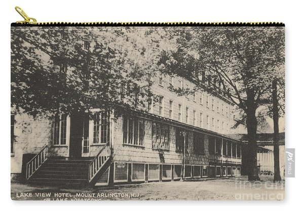Lake View Hotel On Lake Hopatcong Carry-all Pouch