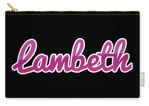 Lambeth #lambeth Carry-all Pouch