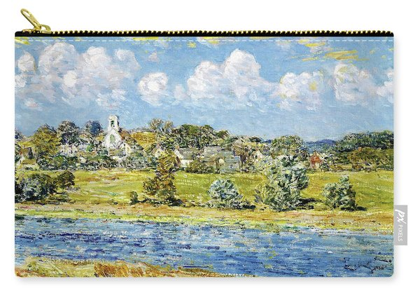 Landscape At Newfields, New Hampshire - Digital Remastered Edition Carry-all Pouch