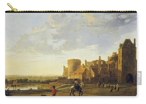 Landscape With A View Of The Valkhof, Nijmegen, 1660 Carry-all Pouch
