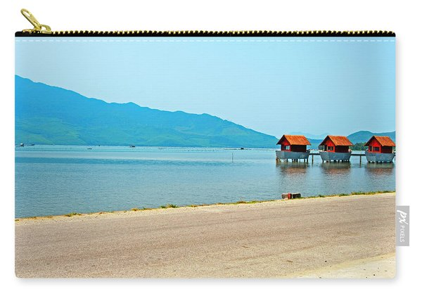 Lang Co Houses On The Water - Hue, Vietnam Carry-all Pouch