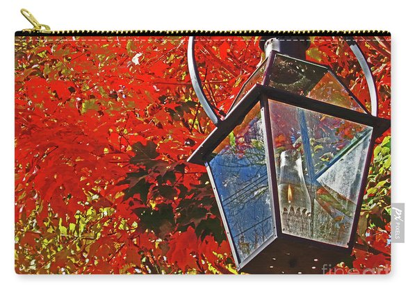 Lantern In Fall Carry-all Pouch