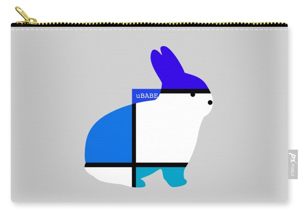 Lapin Agile Blue Carry-all Pouch