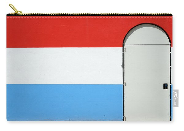 Las Croabas - Red White And Blue Carry-all Pouch