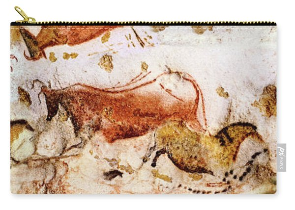 Lascaux Cows Horses And Deer Carry-all Pouch