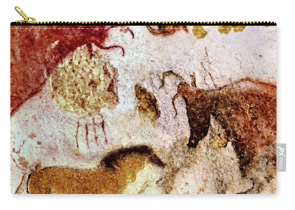 Lascaux Horse And Cows Carry-all Pouch