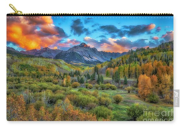Last Light Mount Sneffels Carry-all Pouch