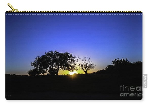 Last Light Texas Hill Country Paradise Canyon Sunset 8053a Carry-all Pouch