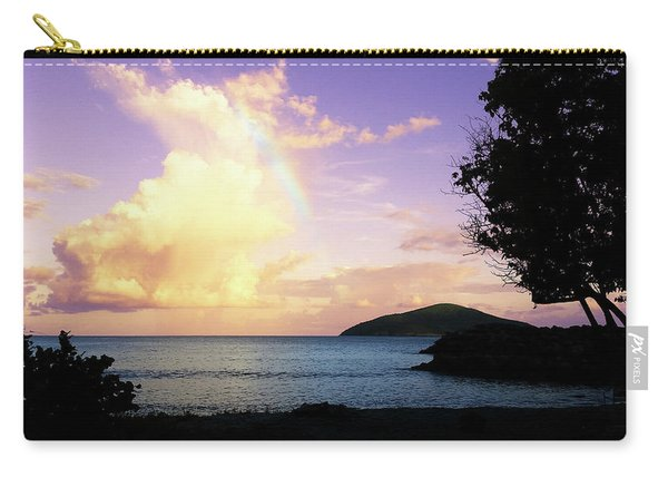 Last Rainbow Of The Day Carry-all Pouch