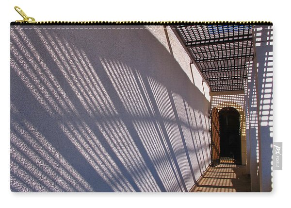 Lattice Shadows Carry-all Pouch