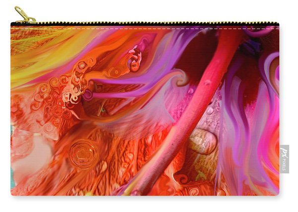 Laughing Hibiscus Carry-all Pouch