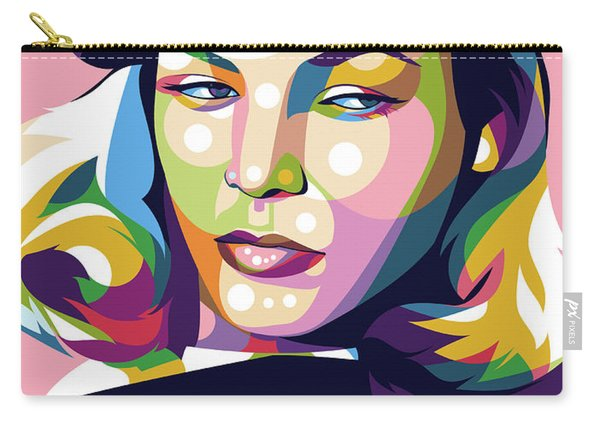 Lauren Bacall Carry-all Pouch