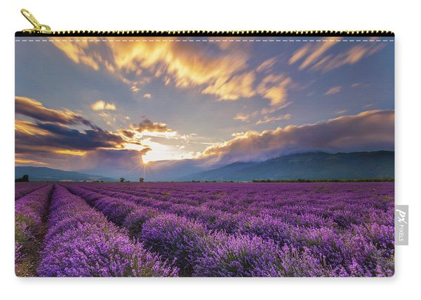 Lavender Sun Carry-all Pouch