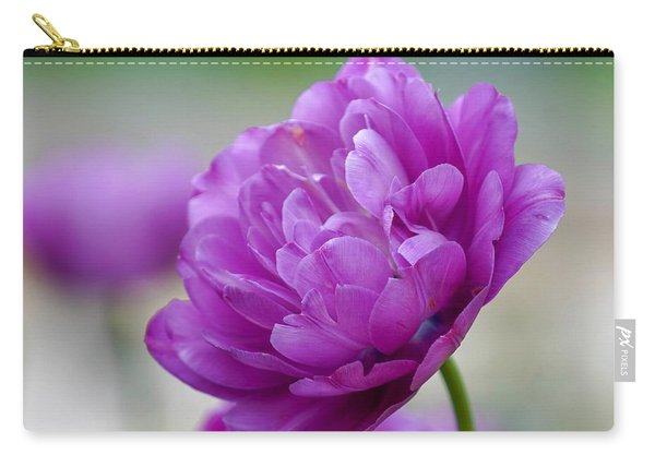 Lavender Tulip Carry-all Pouch