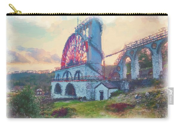 Laxey Wheel 2 Carry-all Pouch