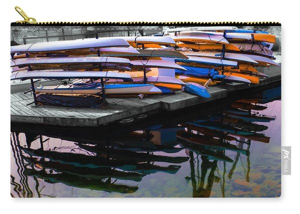 Layers And Layers By The Water Carry-all Pouch
