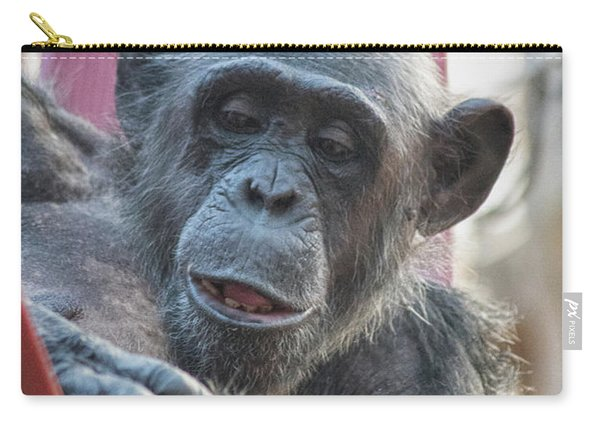 Lazy Chimp Carry-all Pouch