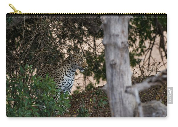 Carry-all Pouch featuring the photograph LC1 by Joshua Able's Wildlife