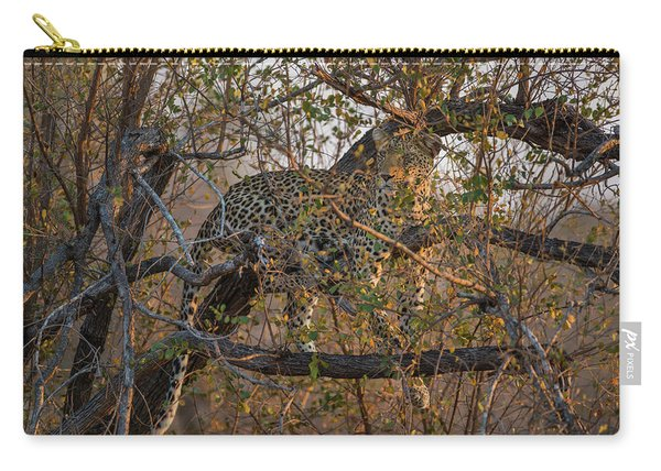 Carry-all Pouch featuring the photograph LC6 by Joshua Able's Wildlife
