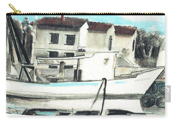 Le Barche Galleggianti Nel Mare Adriatico  Carry-all Pouch