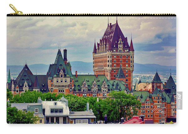 Le Chateau Frontenac Carry-all Pouch