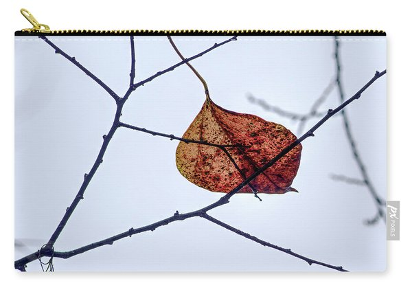 Leaf On Branch Carry-all Pouch