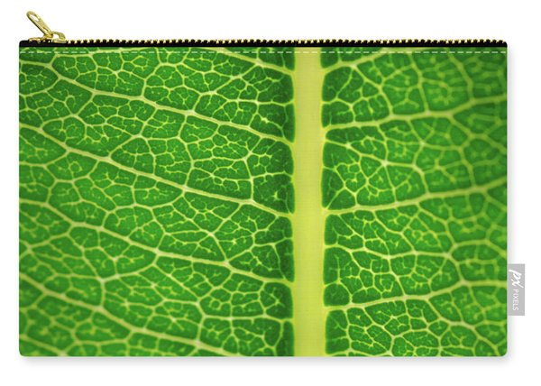 Leafy Detail Carry-all Pouch