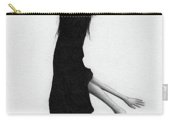 Leaning Woman Ghost - Artwork Carry-all Pouch