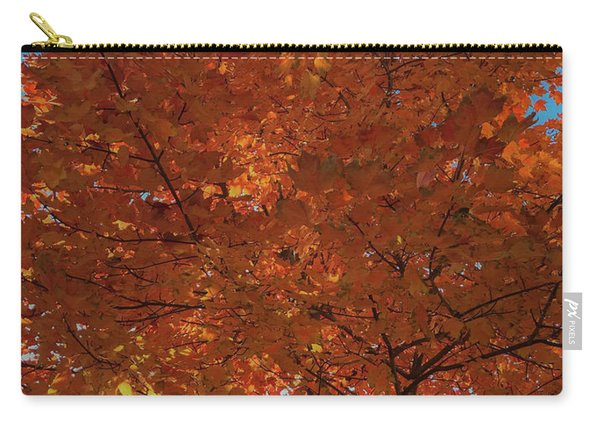 Leaves Of Fire Carry-all Pouch