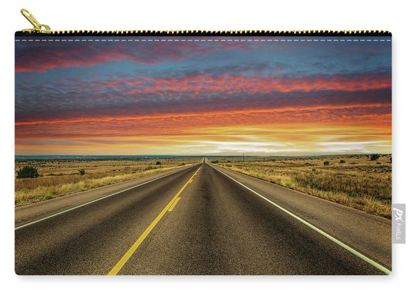 Leaving Lubbock Vanishing Point Carry-all Pouch