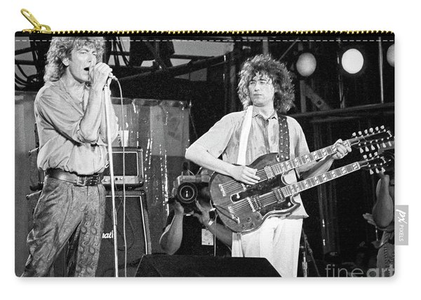 Led Zeppelin Jimmy Page Robert Plant  Carry-all Pouch